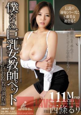 MDYD-743 Studio Tameike Goro A Pet Female Teacher With Big Tits Just For Me Sacrificial Female Teacher Training Edition Ruri Saijo