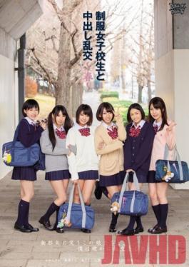 ZUKO-050 Studio Zukkon/Bakkon Cum Orgy  Spring  Uniforms And School Girls