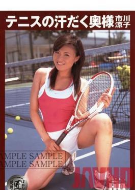 MG-03 Studio Global Media Entertainment Ryoko Ichikawa Sweaty Wife Of Tennis