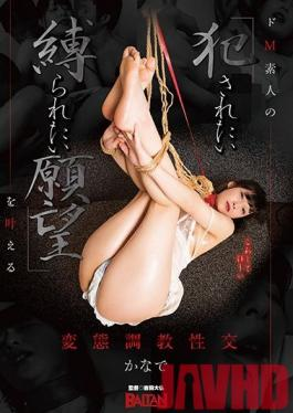 """BAHP-042 Studio Baltan - Perversion Training Sex For Making A Dream Cum True For A Maso Amateur Who """"Desires To Be Fucked While Tied Up"""""""